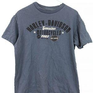 Blue Harley Davidson T-Shirt